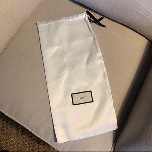 Authentic Gucci Shoe Dustbag